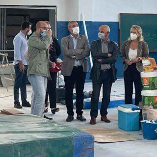 La Junta invierte 180.000 euros en mejorar las infraestructuras del IES Pedro Muñoz Seca