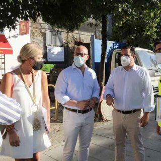 Mantenimiento Urbano inicia reparaciones de urgencia en los cuatro distritos de El Puerto