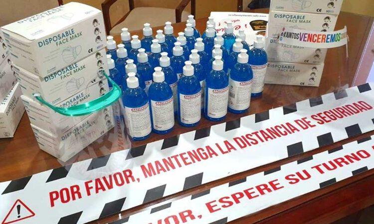 El Ayuntamiento invertirá 295.000 euros en material sanitario y de protección