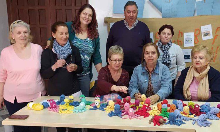 """El """"Grupo de mayores solidarios de Barrio Alto"""" se suma a la iniciativa de los Pulpitos Solidarios"""