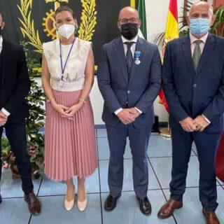 Beardo recibe la medalla de plata al mérito social penitenciario