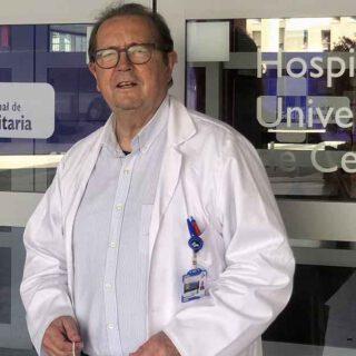 Pedro Alamillos: la experiencia de un médico jubilado que vuelve a Ceuta para luchar contra el coronavirus
