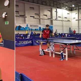 Ceferino Gómez sube al podio en el Campeonato Estatal de Tenis de Mesa 2021