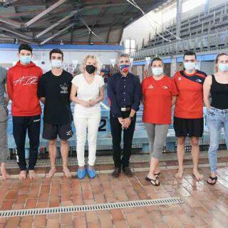 El Club Natación Portuense representará a la ciudad en el Campeonato de España que se celebra esta semana