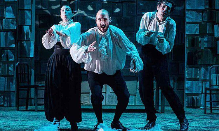 Asombro y aplauso en El Puerto con el Orlando de Teatro Defondo