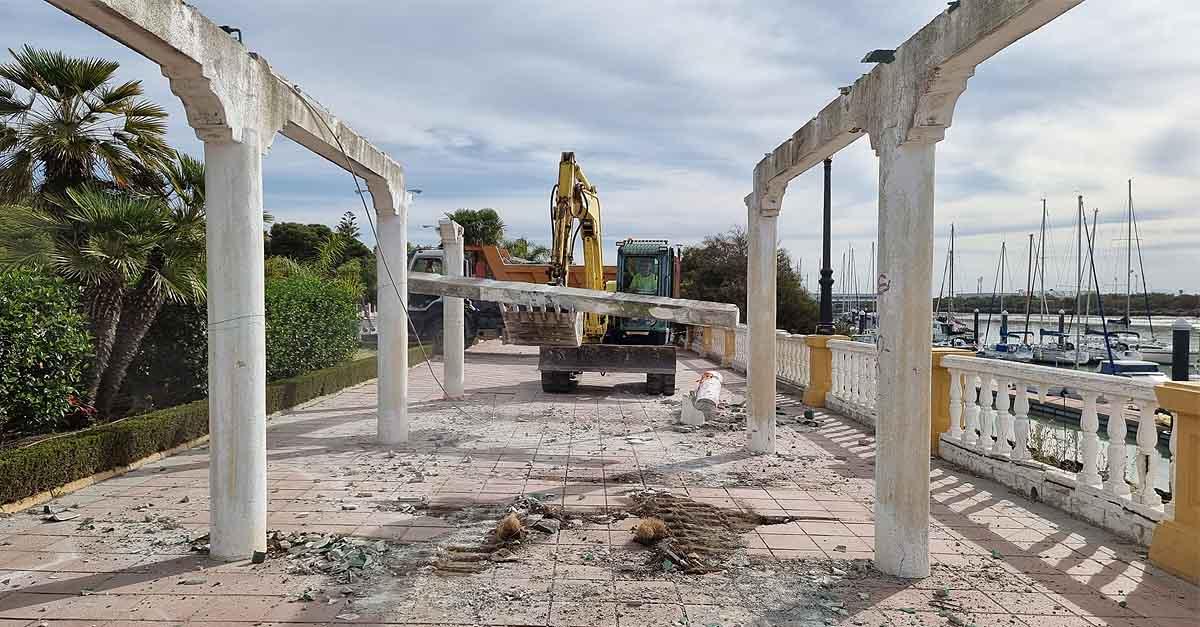 Comienza la reparación integral del Paseo José Luis Tejada