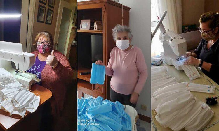 """5.000 mascarillas artesanales contra el coronavirus, """"Menipatch"""" ejemplo solidario"""