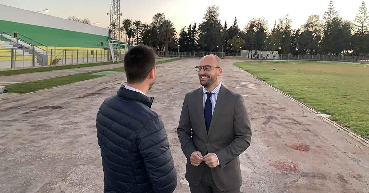 El Puerto estrenará nueva pista de atletismo en los próximos meses