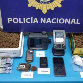 Desmantelado un punto de venta de droga en el centro de El Puerto