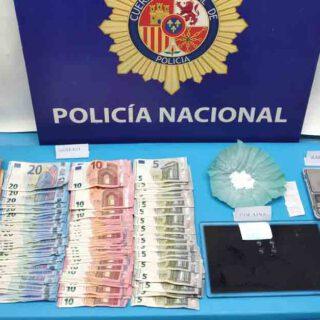 """Desmantelado un punto muy activo de venta de droga en la barriada """"18 de julio"""", en El Puerto"""