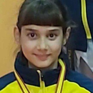 Daniela Holgado, campeona de Andalucía precadete por segundo año consecutivo