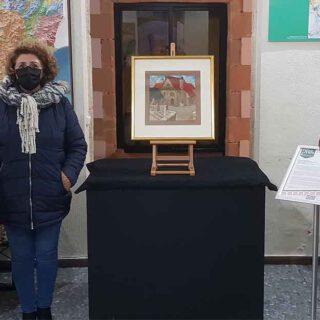 """El cuadro de Eulogio Varela """"Una casa en…"""", nueva pieza del mes"""