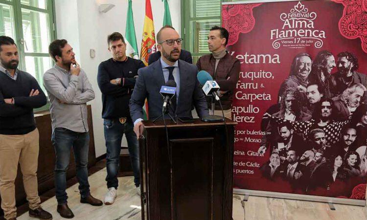 """La Plaza de Toros acogerá el 17 de julio el Festival """"Alma Flamenca"""""""
