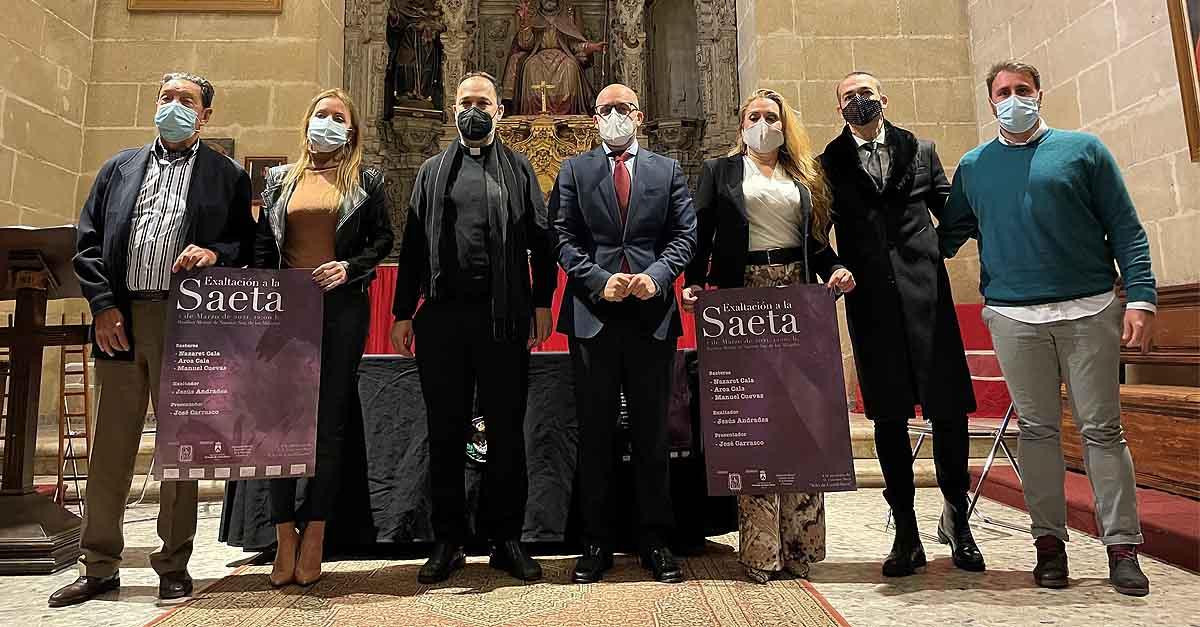La Basílica acoge la presentación del cartel de la V Exaltación a la Saeta