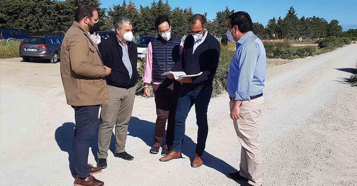 """Concluida la primera fase de las obras del proyecto """"Puerta Verde"""""""