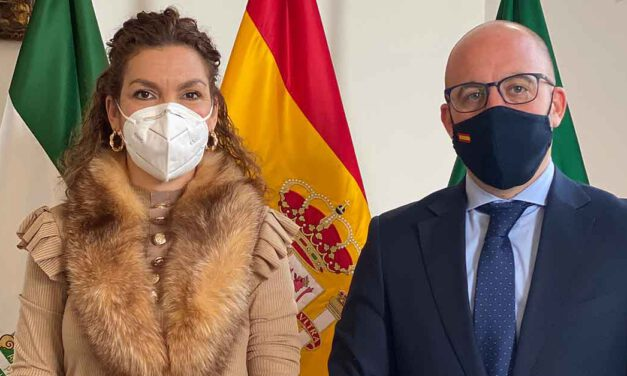 Beardo recibe a Esther Serrano, nueva directora del centro penitenciario Puerto III