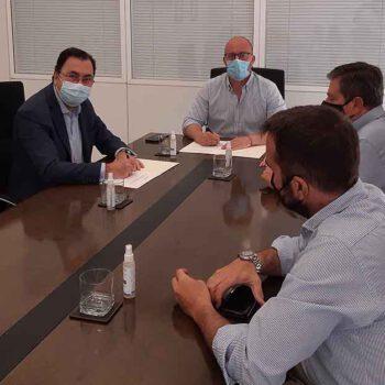 Apemsa firma el contrato de mantenimiento de las depuradoras y del alcantarillado