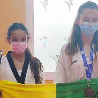 Gema Gálvez, del club Lee Puerto de Taekwondo, campeona Andalucía cadete