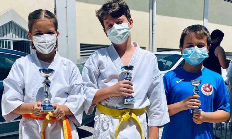 Nuevo éxito del club de karate portuense Club Chakugan