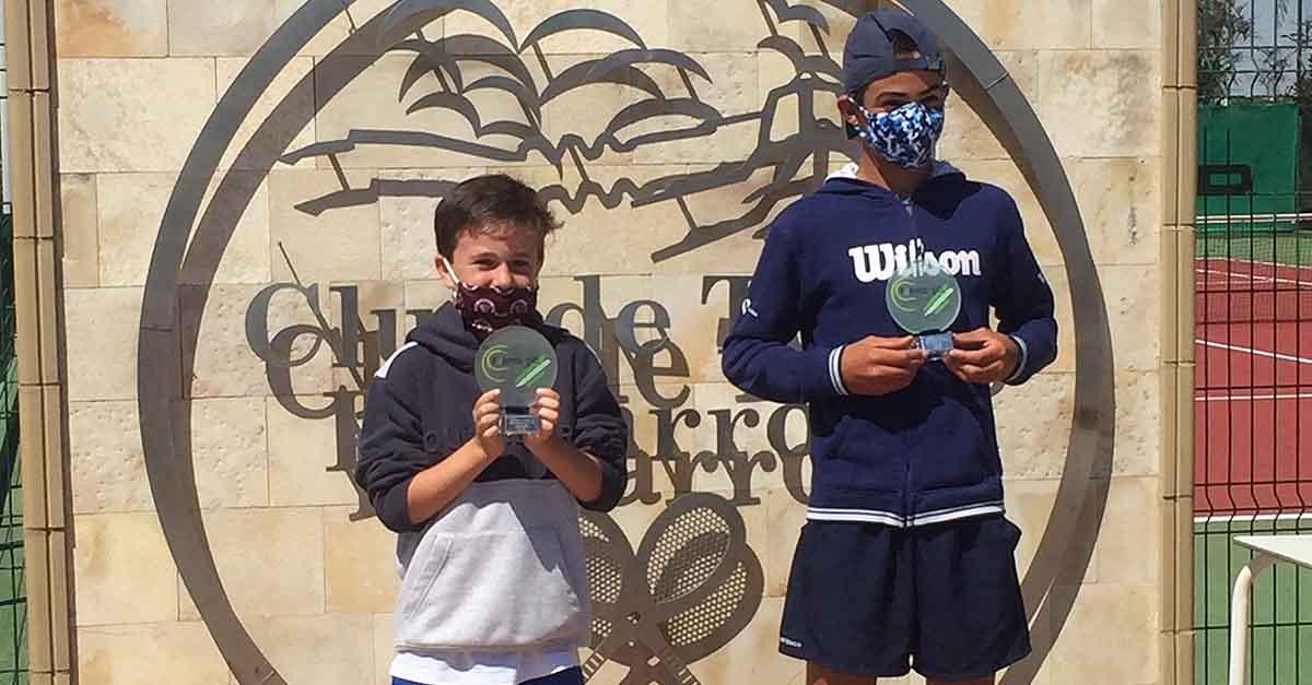 Buena participación de Louis d'Auzac en los campeonatos de Diputación de Alevín en La Barrosa