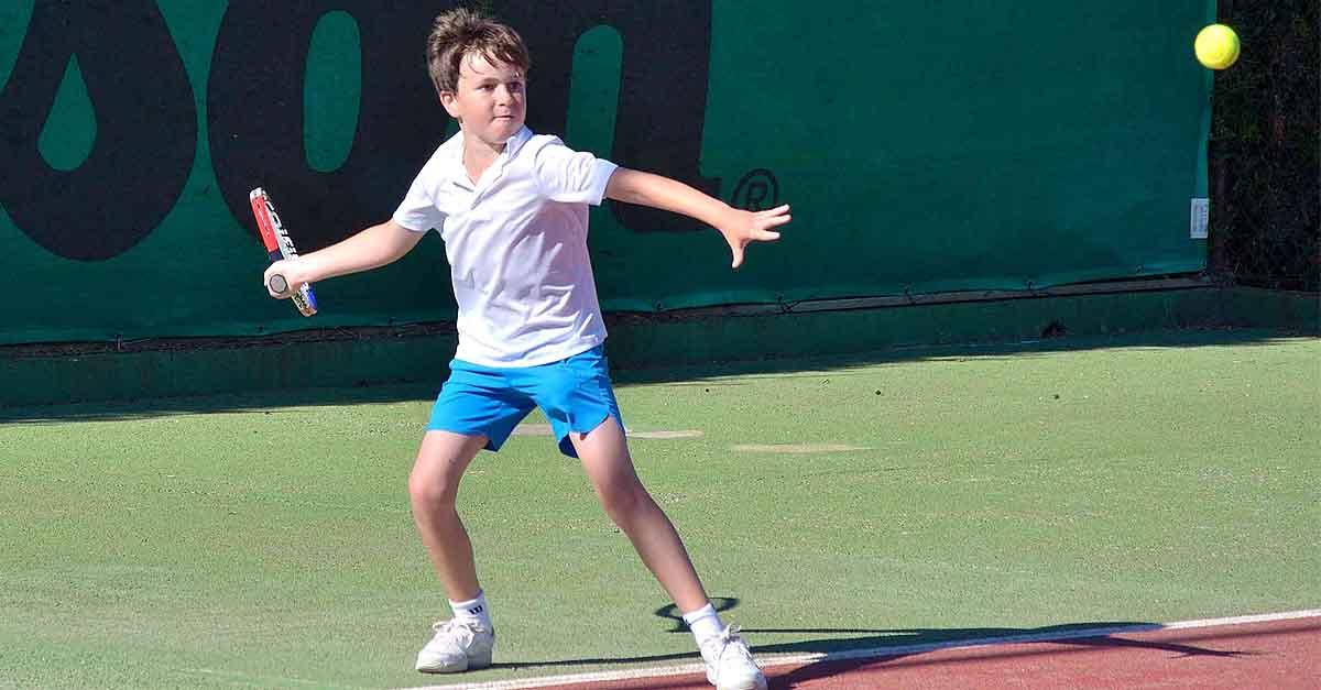 El joven portuense Louis D'Auzac se proclama campeón de Diputación de Tenis