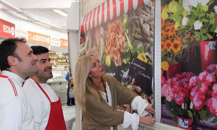 El Mercado de Abastos estrena nuevos toldos en sus puestos cerrados
