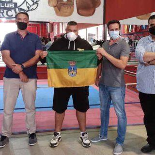 Unión Portuense muestra su respaldo al Club de Boxeo García