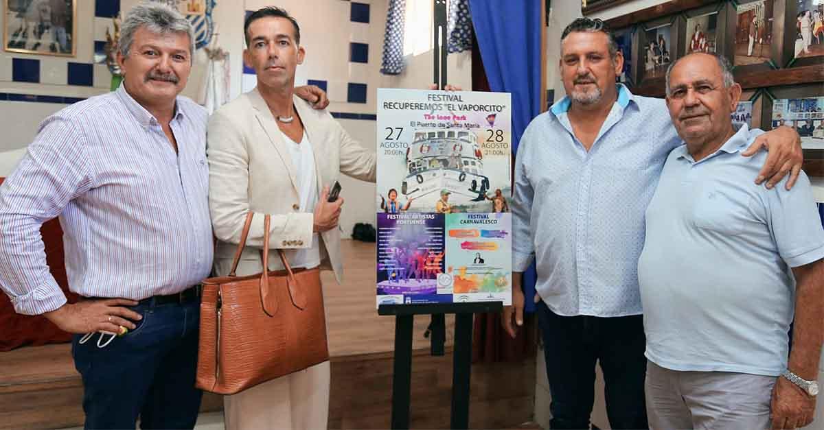 """The Lace Park acogerá el Festival """"Recuperemos el Vaporcito"""" el 27 y 28 de agosto"""