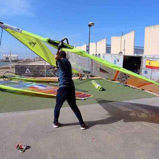 El Puerto acoge ya el Mundial de RS:X previo a los Juegos Olímpicos de Tokio