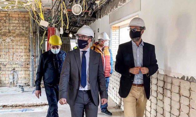 Las obras de la residencia en Las Banderas avanzan a buen ritmo