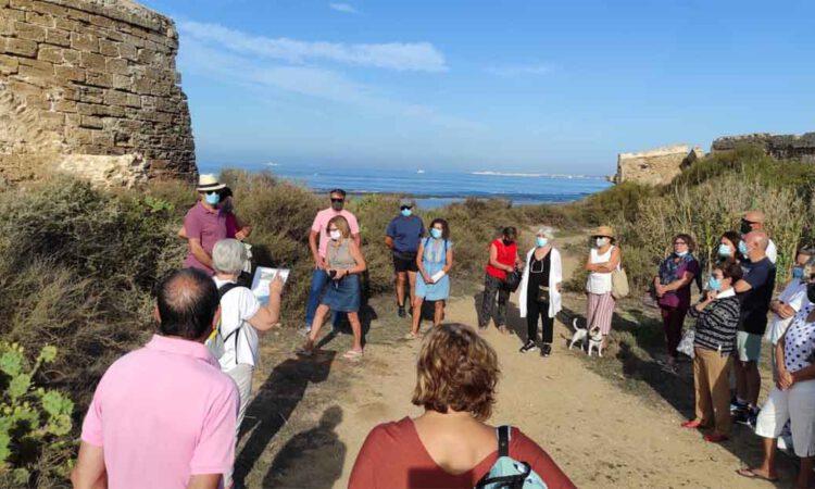 Betilo promueve una visita a La Muralla y Fuerte de Santa Catalina para su puesta en valor