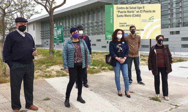 IU y Flave piden a la Junta una fecha de apertura del centro de salud Ángel Salvatierra