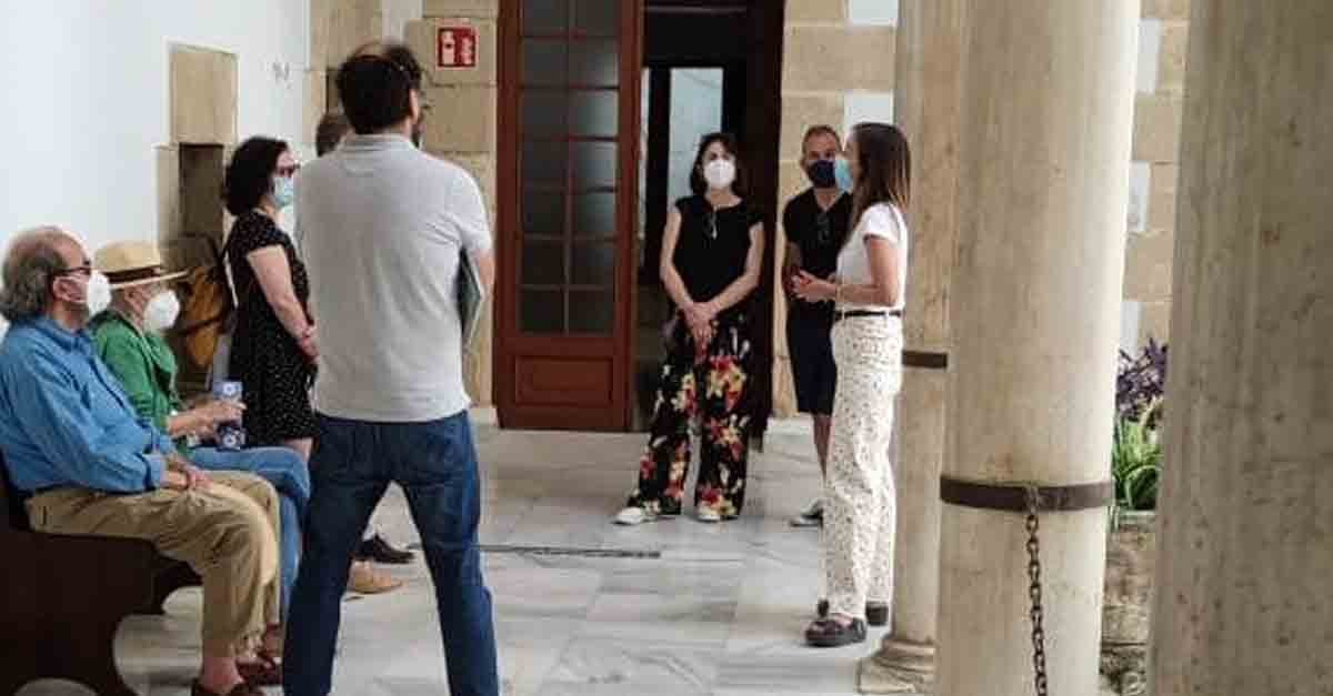 Más de 1.400 personas han participado en las visitas guiadas a los patios de las Casas Palacio de El Puerto