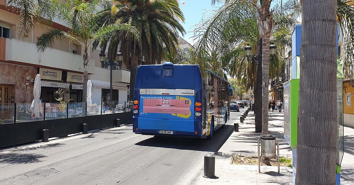 Las Navidades, mejor en autobús urbano