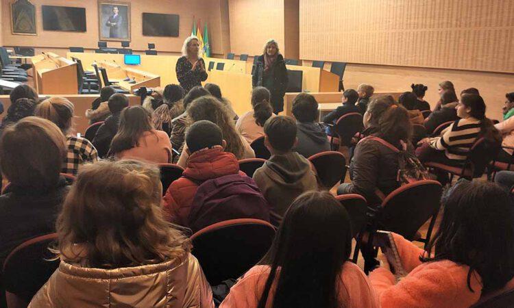 Educación organiza nuevas visitas de los escolares portuenses al Ayuntamiento
