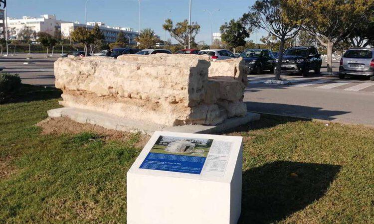 Hallados restos del acueducto de la Piedad en una obra de Apemsa