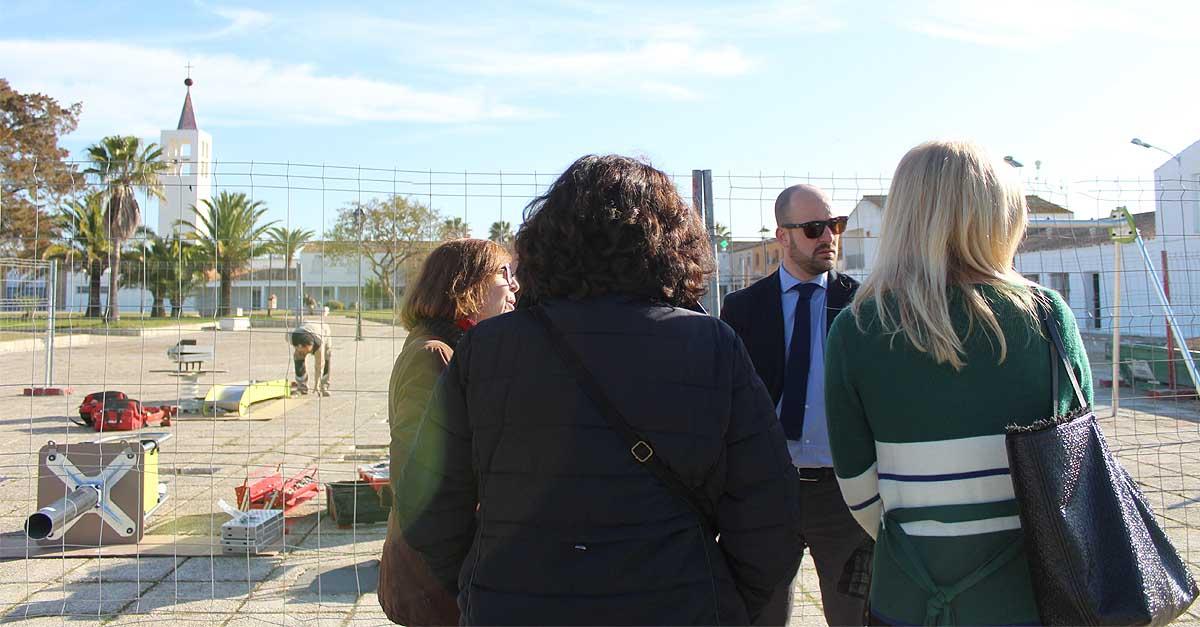 Adjudicada la instalación de cuatro nuevos parques infantiles