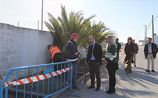 Continúa el plan de mejora de la red viaria de Doña Blanca