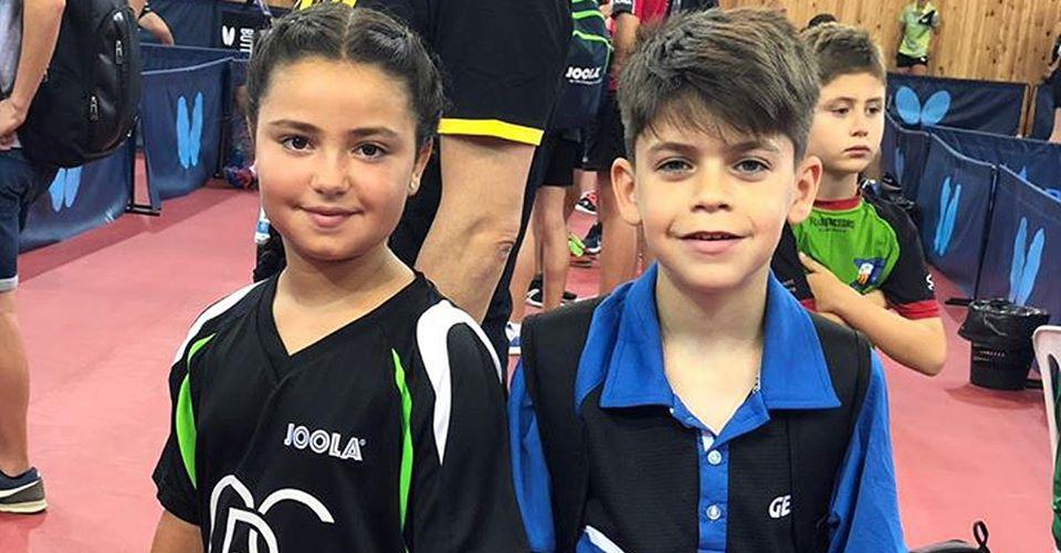 Alba Sánchez y Pablo Castillo, convocados por la Federación Andaluza de Tenis de Mesa