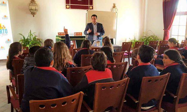 La Oficina de Turismo se abre a los colegios portuenses