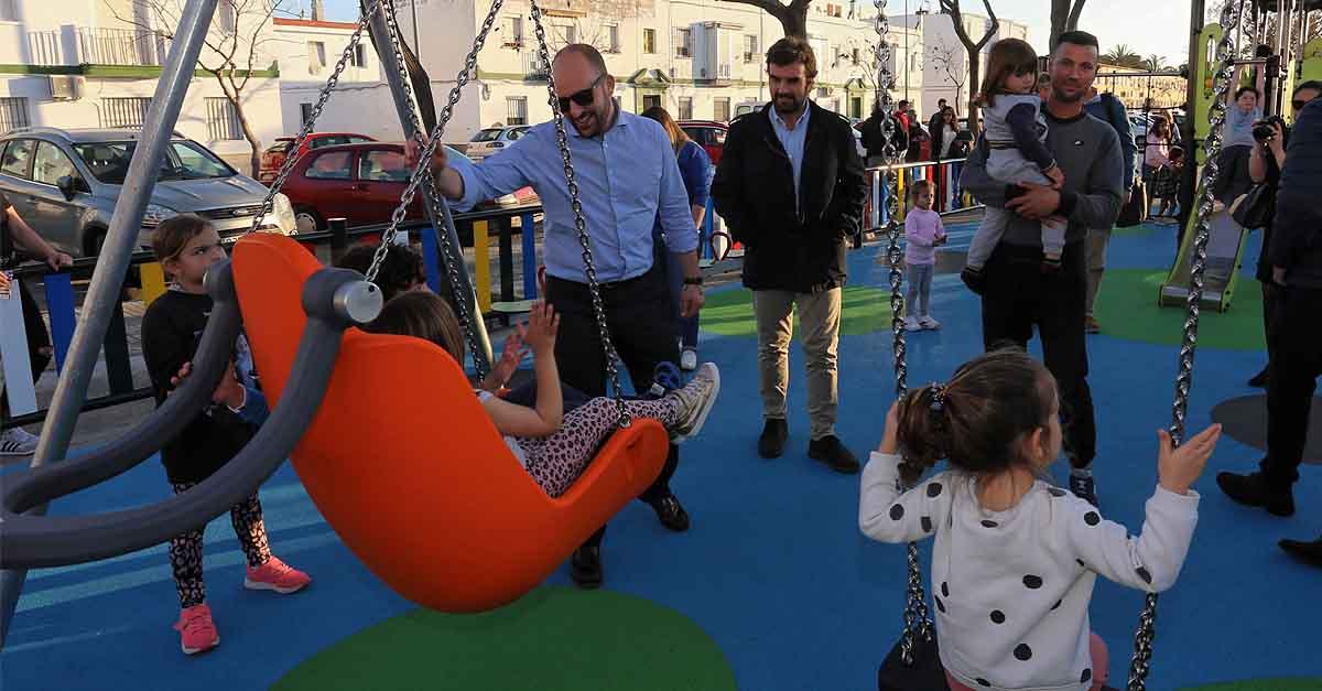 Inaugurado el Parque Infantil de calle Aurora