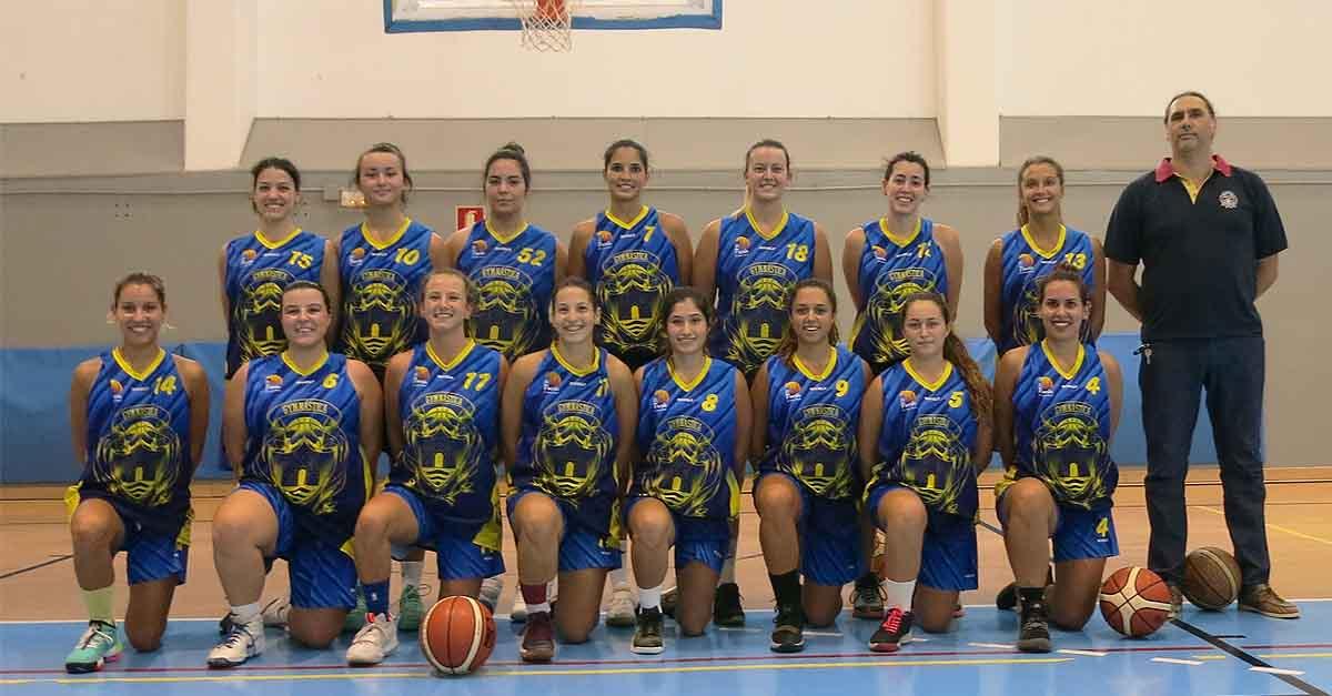 El sénior femenino de la Gymnástica Portuense sigue con su racha de victorias