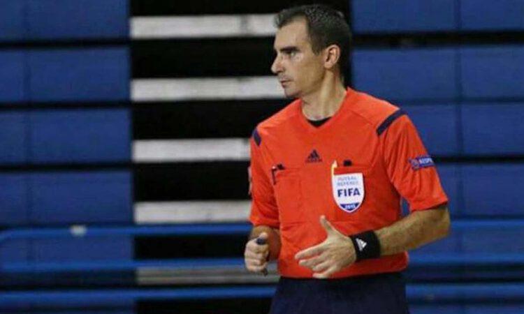 El mejor árbitro del mundo de fútbol sala es portuense y quiere ser profesional