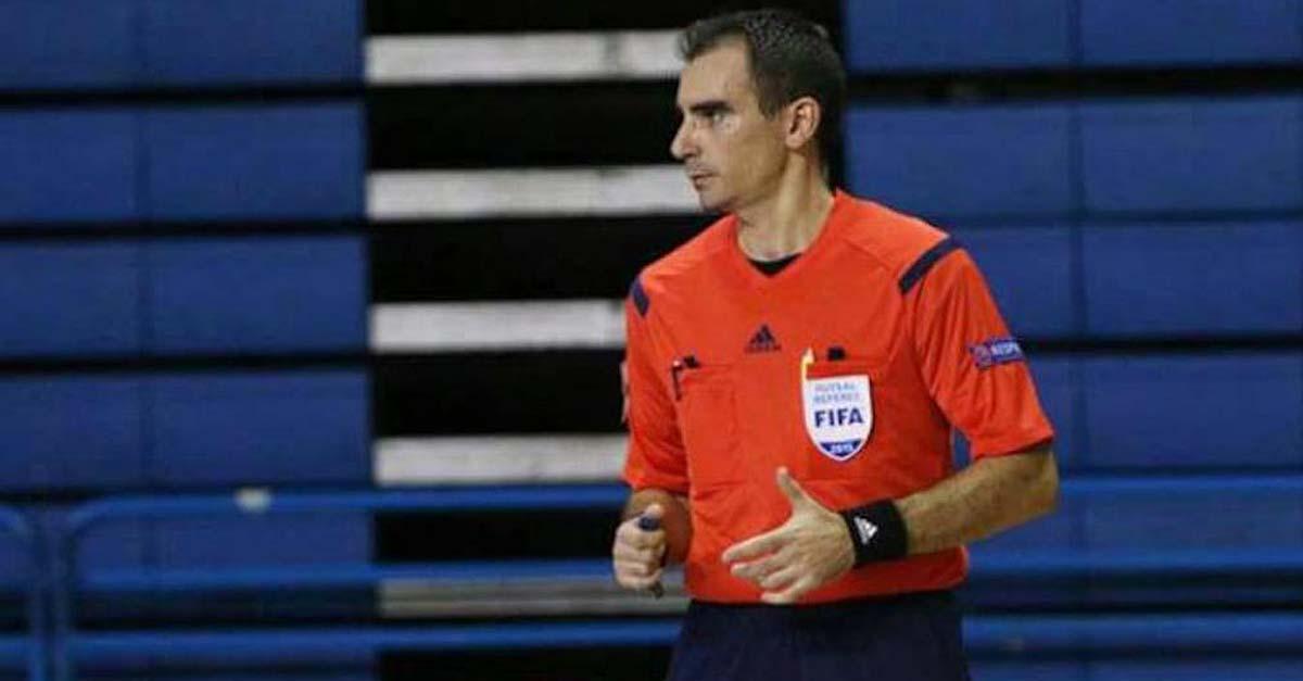 El portuense Juan José Cordero Gallardo, nombrado mejor árbitro del mundo en 2019