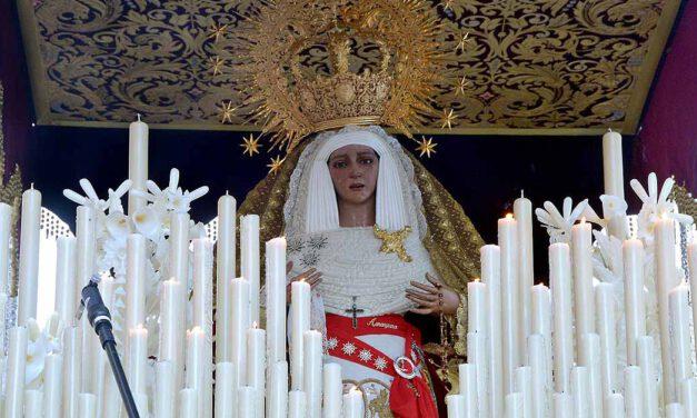 María Santísima de la Amargura se expondrá en San Joaquín por la festividad de la Inmaculada