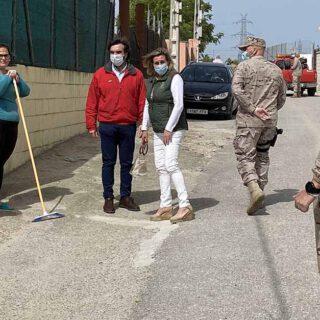 Las calles de El Puerto desinfectadas y en condiciones para acometer la desescalada
