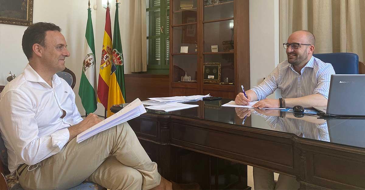 Beardo agradece el apoyo de la Diputación para reactivar El Puerto ante la crisis