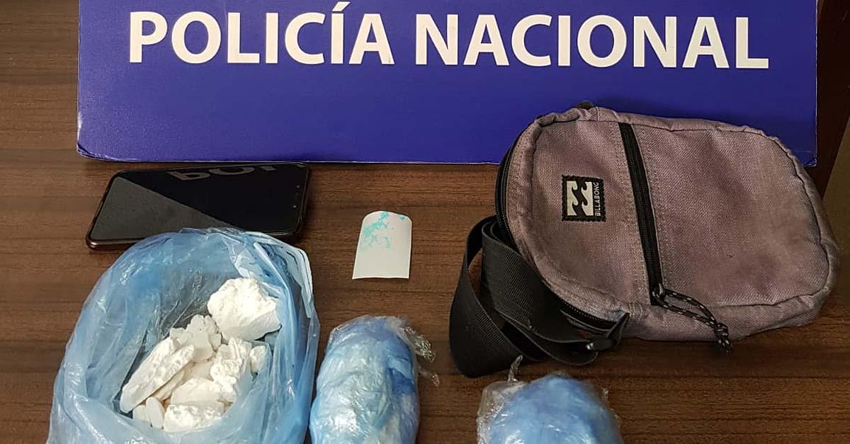 Detenido en El Puerto con 320 gramos de cocaína oculta en tres envoltorios de plástico