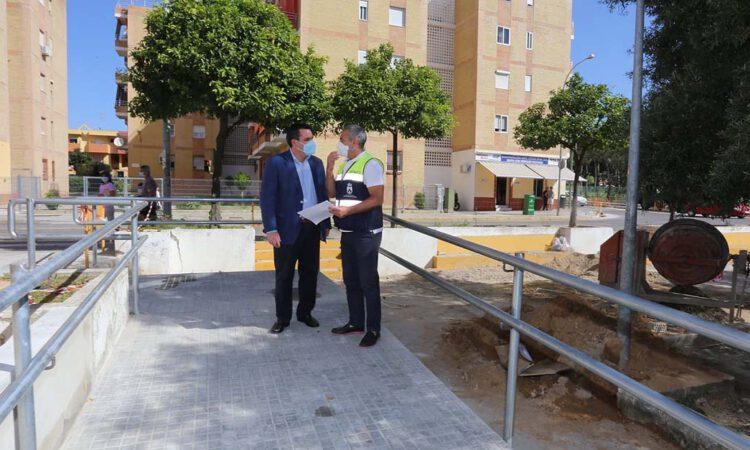 El proyecto de la rotonda de La Libertad hará más accesible el entorno para los vecinos