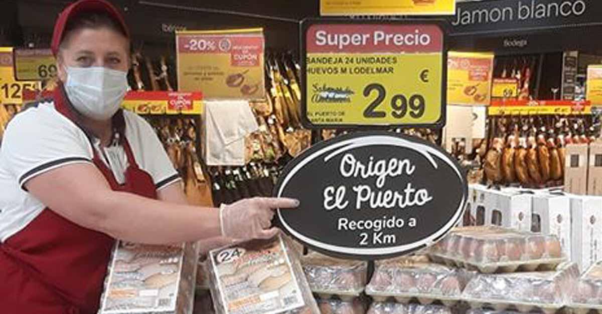 Afanas agradece a Carrefour-El Paseo la inserción de sus productos en apoyo al comercio local